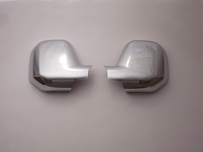 Demon Styling Chrome ABS 2pc Door Wing Mirror Covers Citroen Berlingo 2008-2012