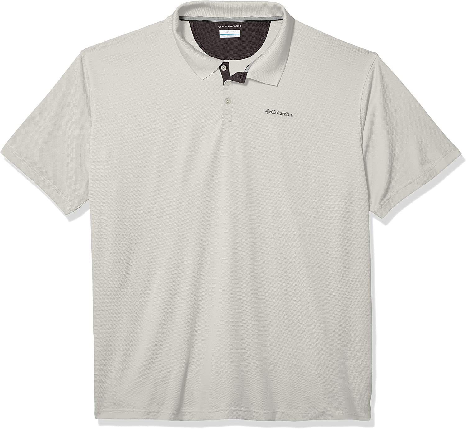 Columbia Men's Utilizer Short Sleeve Wicking Polo with Uv Protection