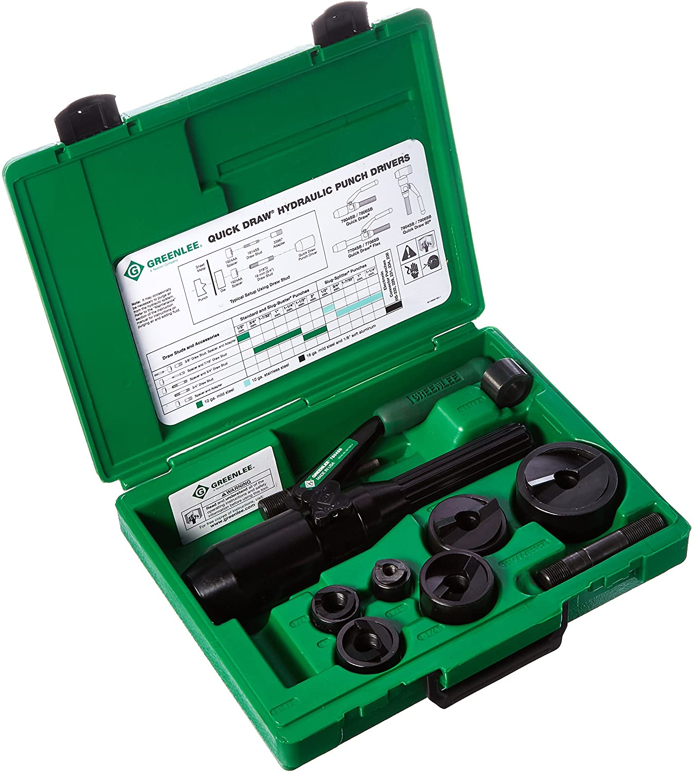 Adaptor Pull Rods for Hydraulic Knockout Punch Kits