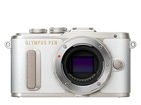 Olympus Pen E-PL8 - Cámara Evil de 16 MP (Pantalla táctil abatible de