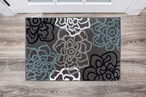 fab941758f5 Image Unavailable. Image not available for. Color  Rugshop Contemporary  Modern Floral Flowers Area Rug ...