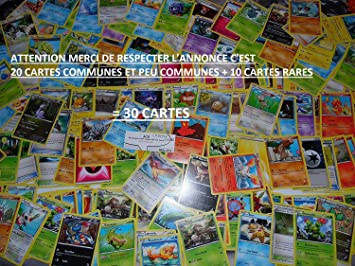 Nintendo - Lote de 20 cartas Pokémon comunes aleatorias de la serie XY nueva en VF (incluye un bonus de cartas): Amazon.es: Juguetes y juegos