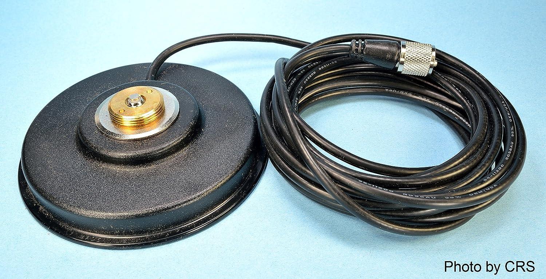 Amazon.com: Workman PM5-NMO CB Radio Antenna Magnet Mount with PL ...