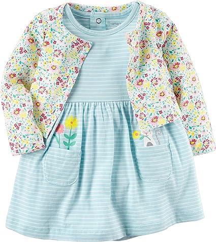 : Carter's Baby Girl 2 Piece Bodysuit Dress