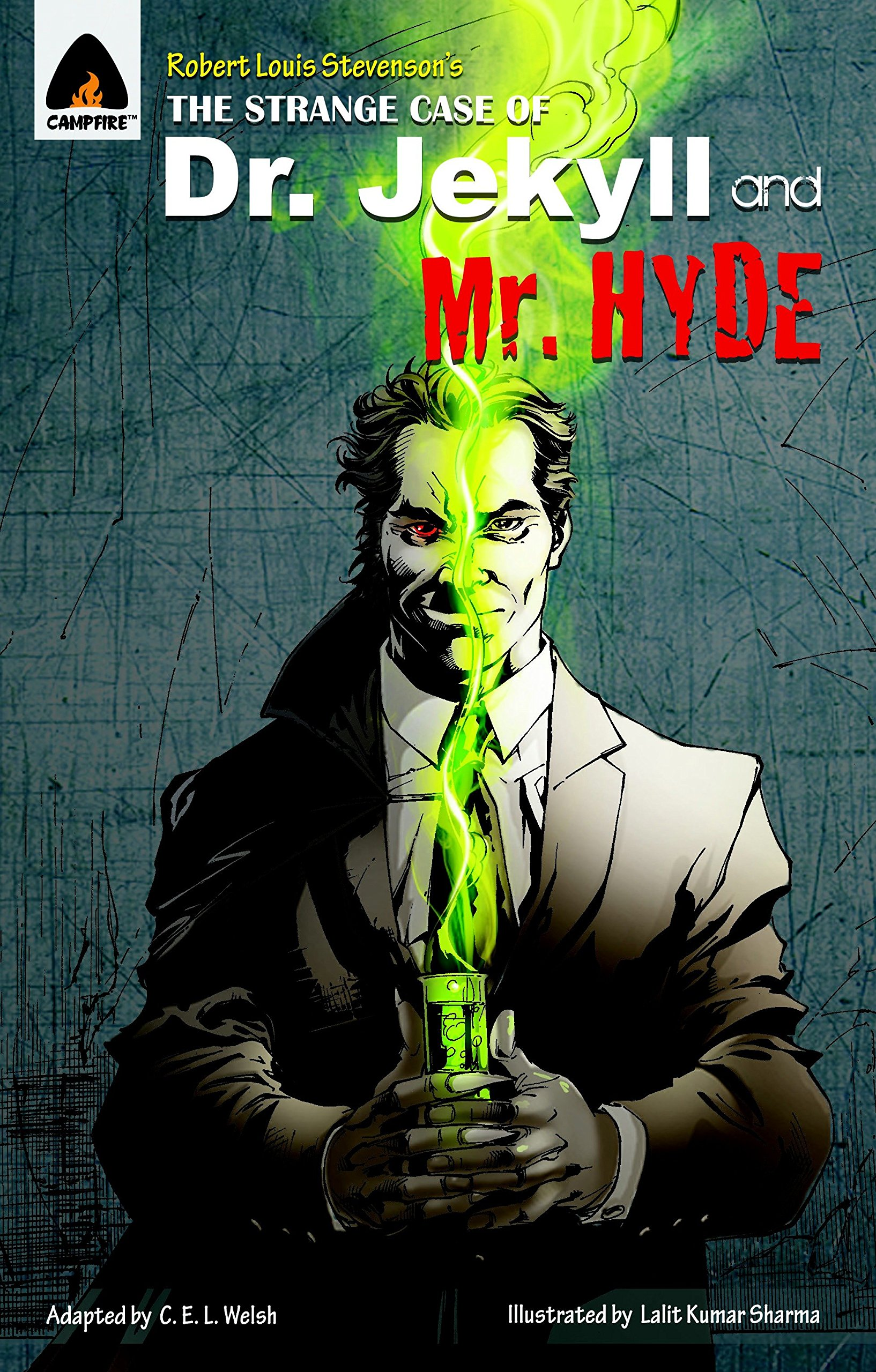 Read Online The Strange Case of Dr Jekyll and Mr Hyde: The Graphic Novel (Campfire Graphic Novels) pdf epub