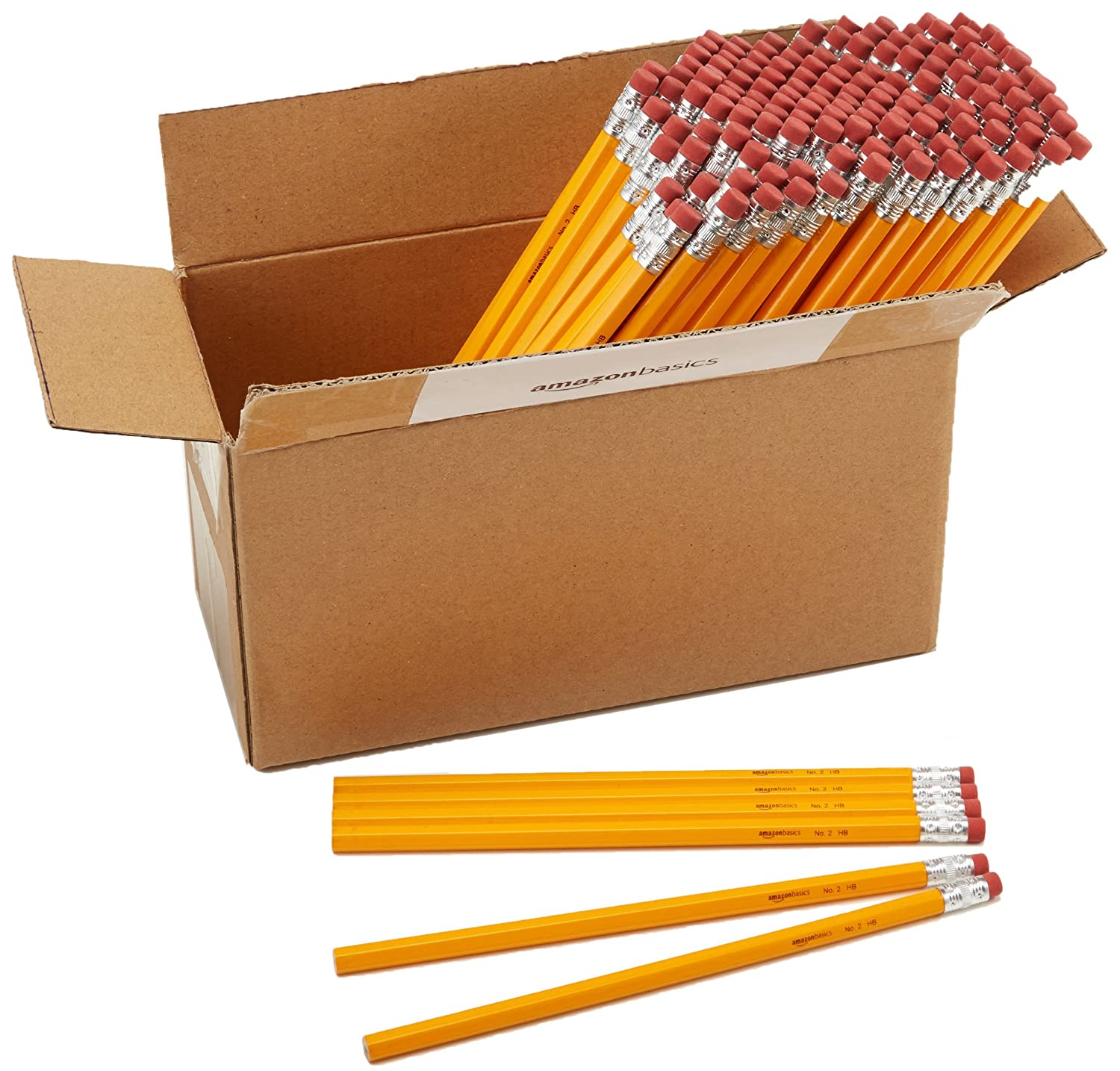 AmazonBasics Wood-cased 2 HB Pencils –  Box of 144 at Rs.299