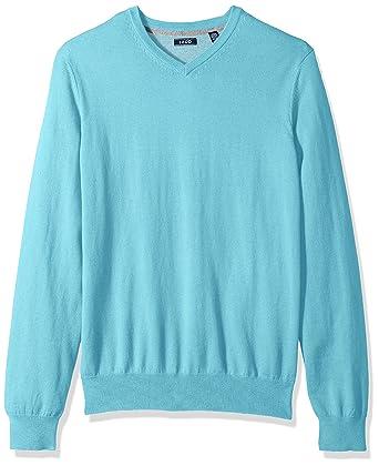 83ce4475547 IZOD Men s Long Sleeve Soft Fine Gauge Solid V-Neck Sweater