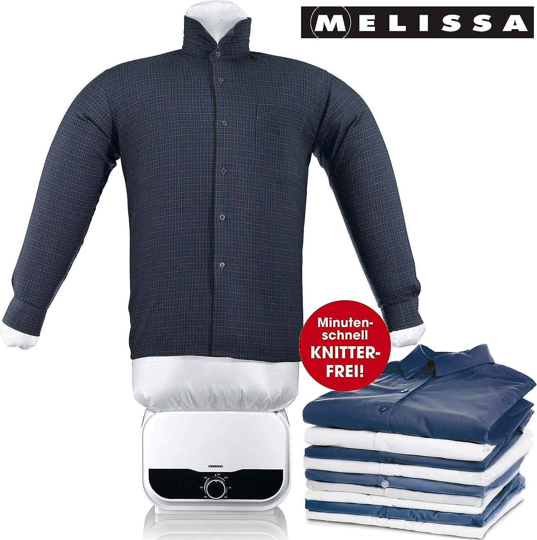 MELISSA 16390055 - Maniquí de planchado para blusa (1200 W, fácil de usar, plástico), color blanco: Amazon.es: Hogar
