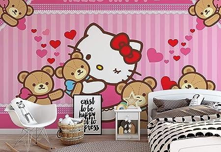 Hello Kitty Photo Wallpaper Wall Mural Easyinstall Paper