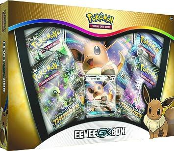 Pokemon TCG: Eevee-GX Box: Amazon.es: Juguetes y juegos