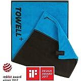 """Towell Plus V2 in 9 Farben by STRYVE + Sporthandtuch mit Tasche und Magnetclip, - Bekannt aus """"Die Höhle der Löwen"""""""