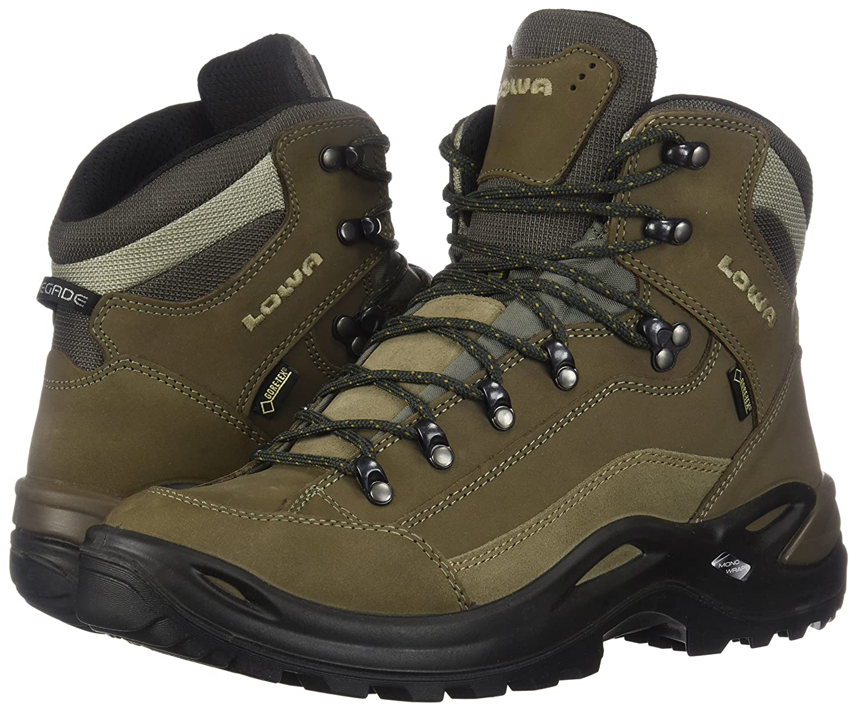 Lowa Women's Renegade GTX Mid Hiking Boot B002MPPVKK 8.5 B(M) US|Stone