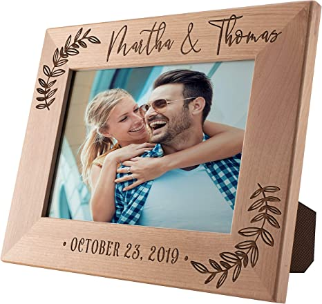 Anniversary Gift Personalized Picture Frame Picture Frame Faith Hope and Love New Home Gift Wedding Gift
