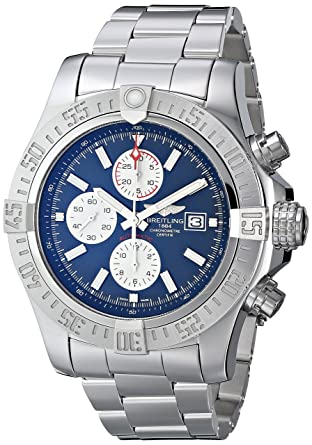 83166037d5f Image Unavailable. Image not available for. Color  Breitling Men s  BTA1337111-C871SS Super Avenger II ...