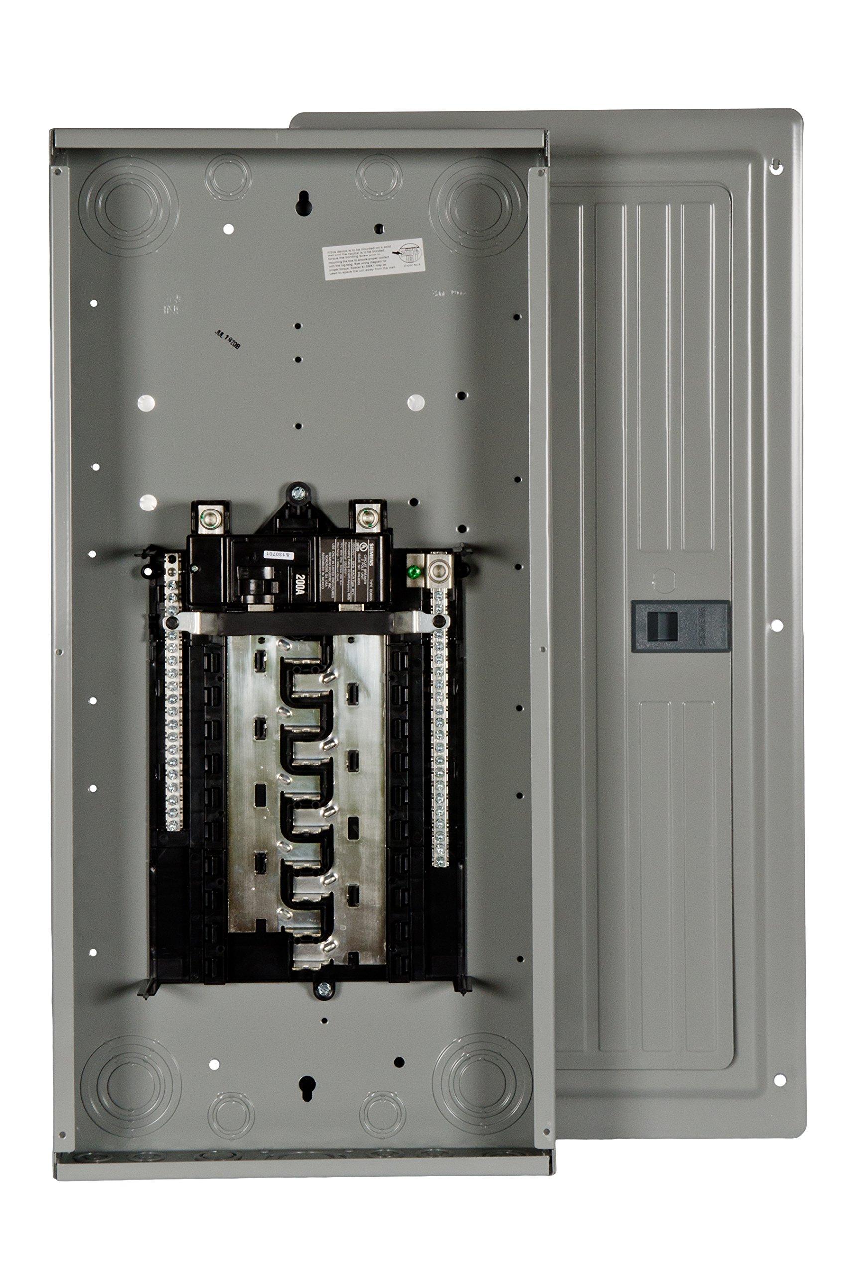 Siemens 20 Space, 40, Circuit, 200 Amp, Main Breaker, Indoor Load Center