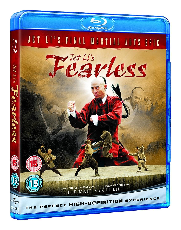 Fearless [Blu-ray] [Region Free]