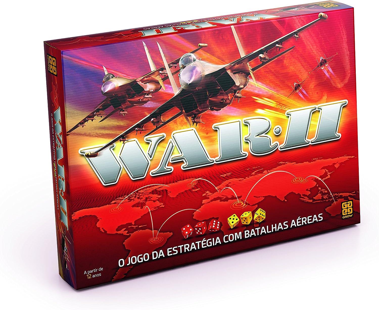 Grow - War II Jogo da Estratégia com Batalhas Aéreas, Multicor, (Grow 961)