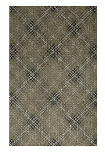 Mohawk Home Russell Plaid Earth Area Rug, 5 x8 ,