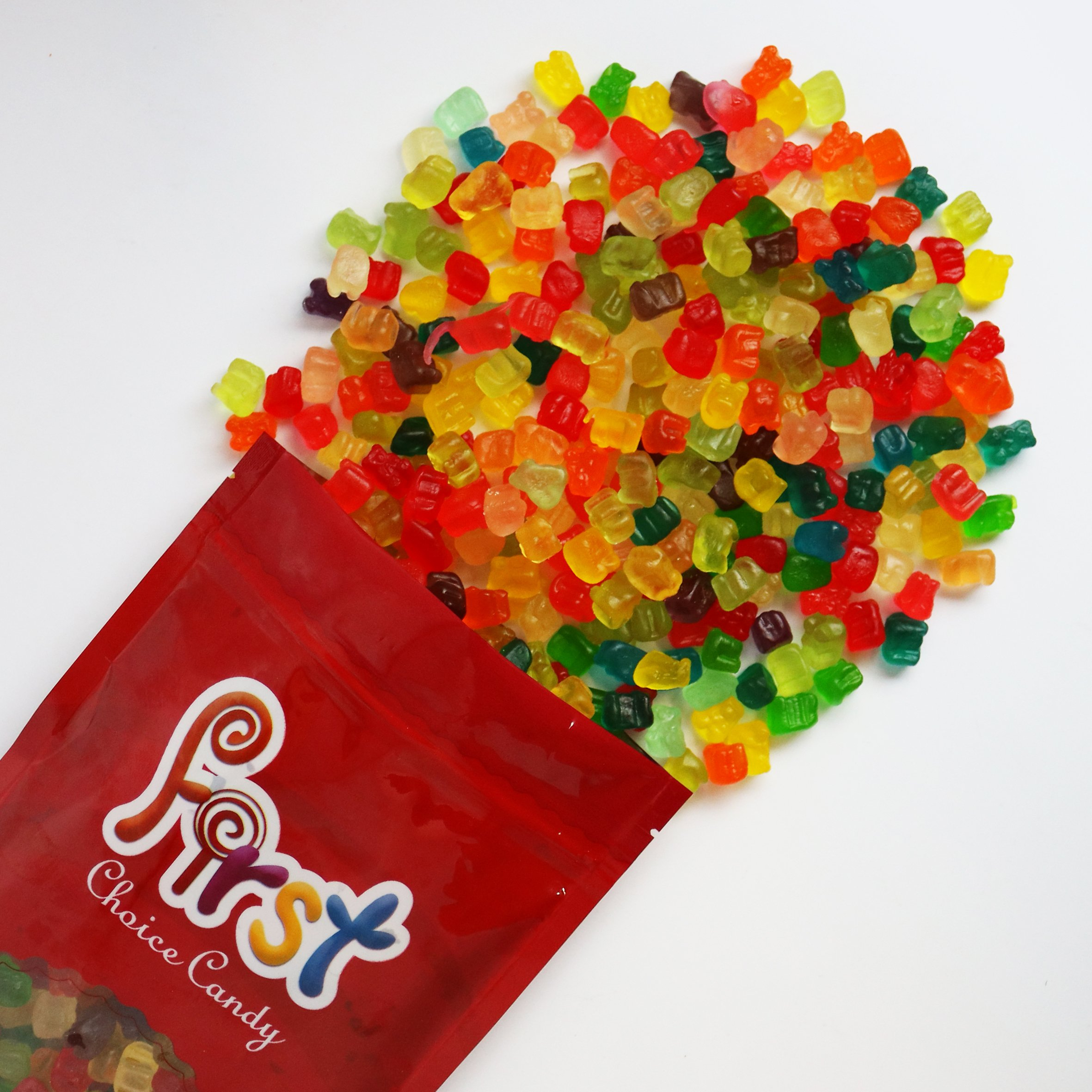 FirstChoiceCandy Albanese Mini Gummi Bears 2 Pound Resealable Bag