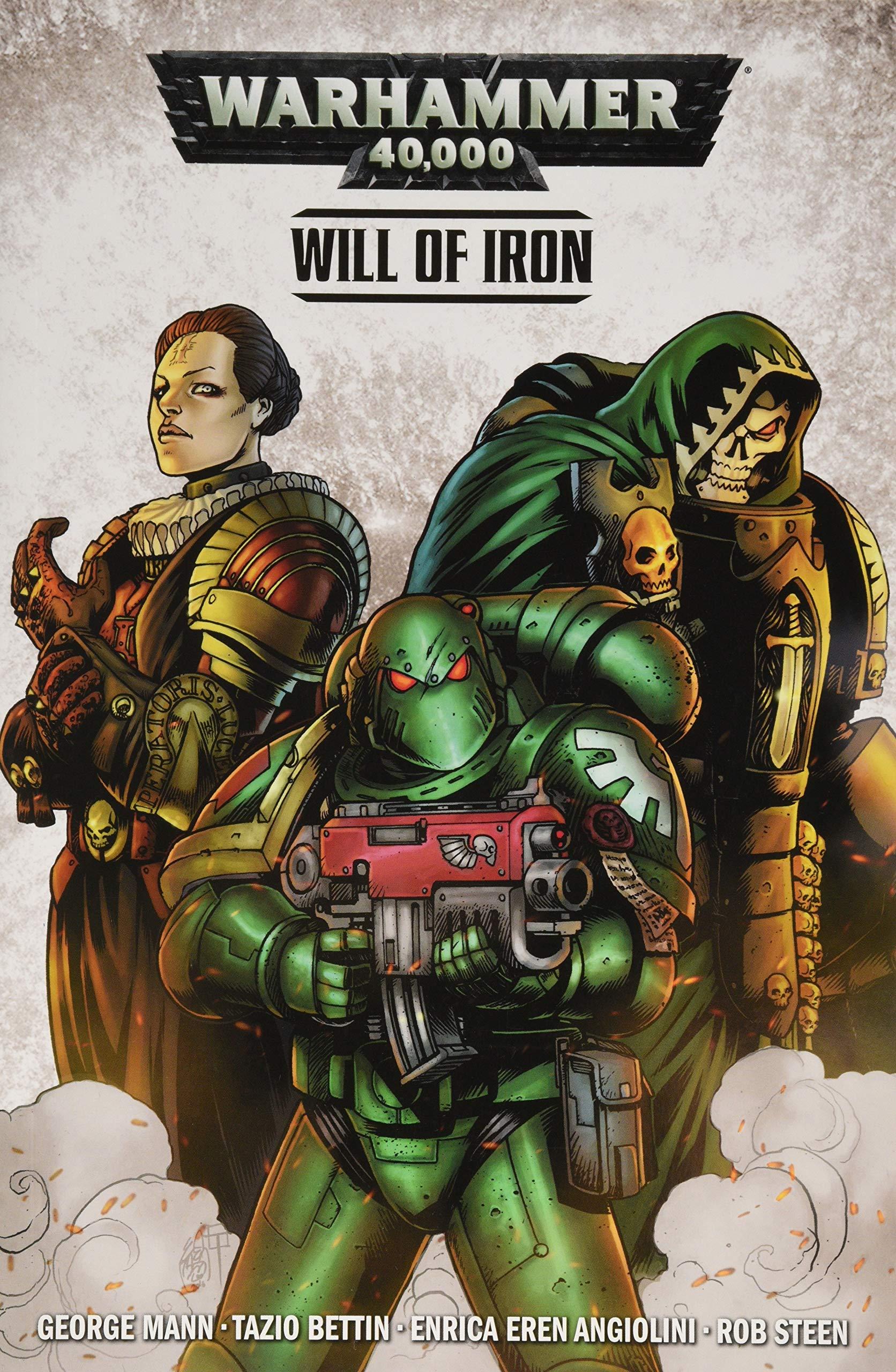 Warhammer 40,000: Will of Iron (Warhammer 40000 1): Amazon ...