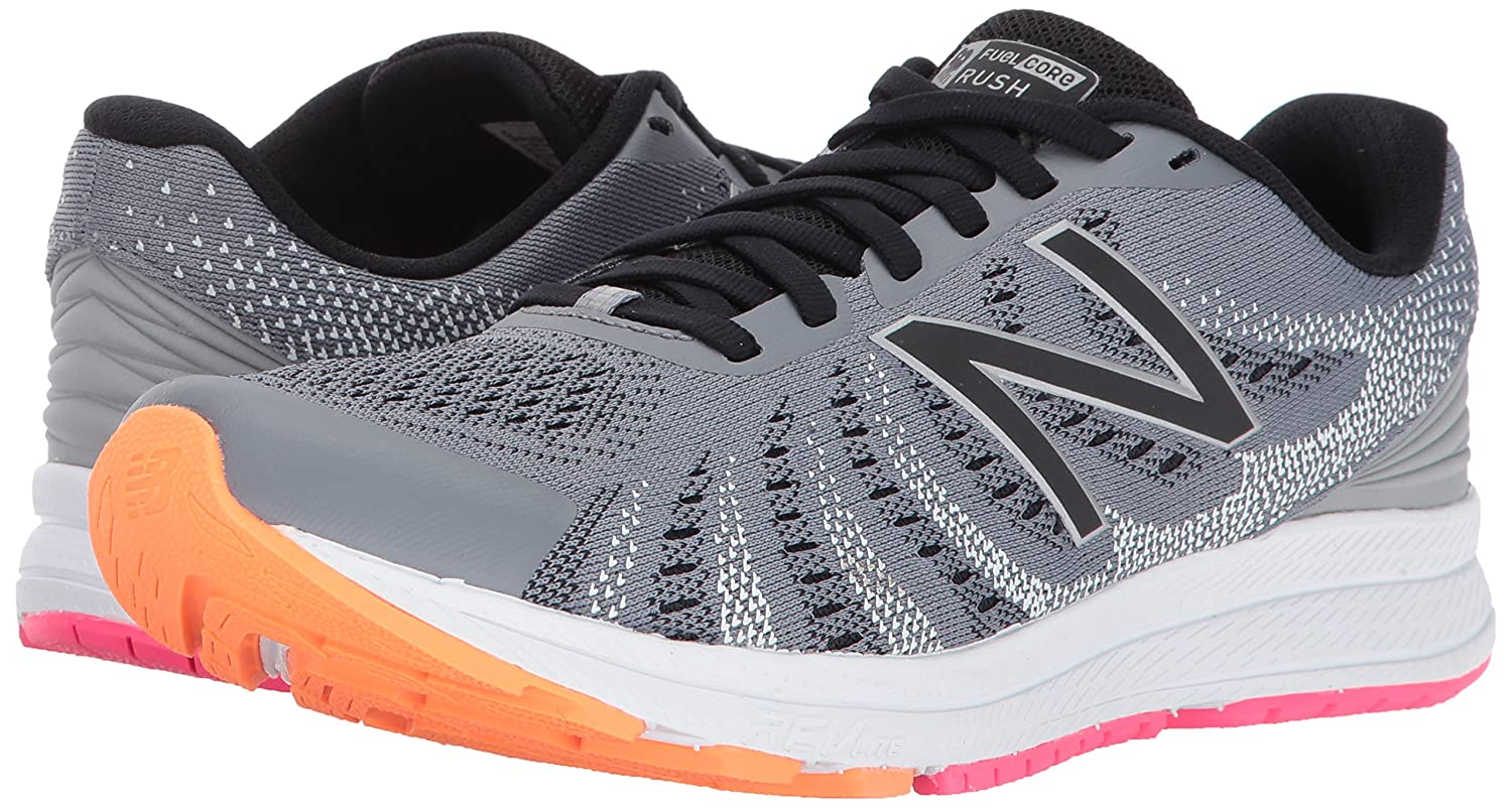 New B01N43MEA3 Balance Women's Rushv3 Running-Shoes B01N43MEA3 New 7 D US|Steel/Black 06843c