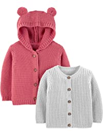 Simple Joys by Carter s Baby 2-Pack Knit Cardigan Sweaters 948fb8afd