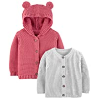 Baby 2-Pack Knit Cardigan Sweaters