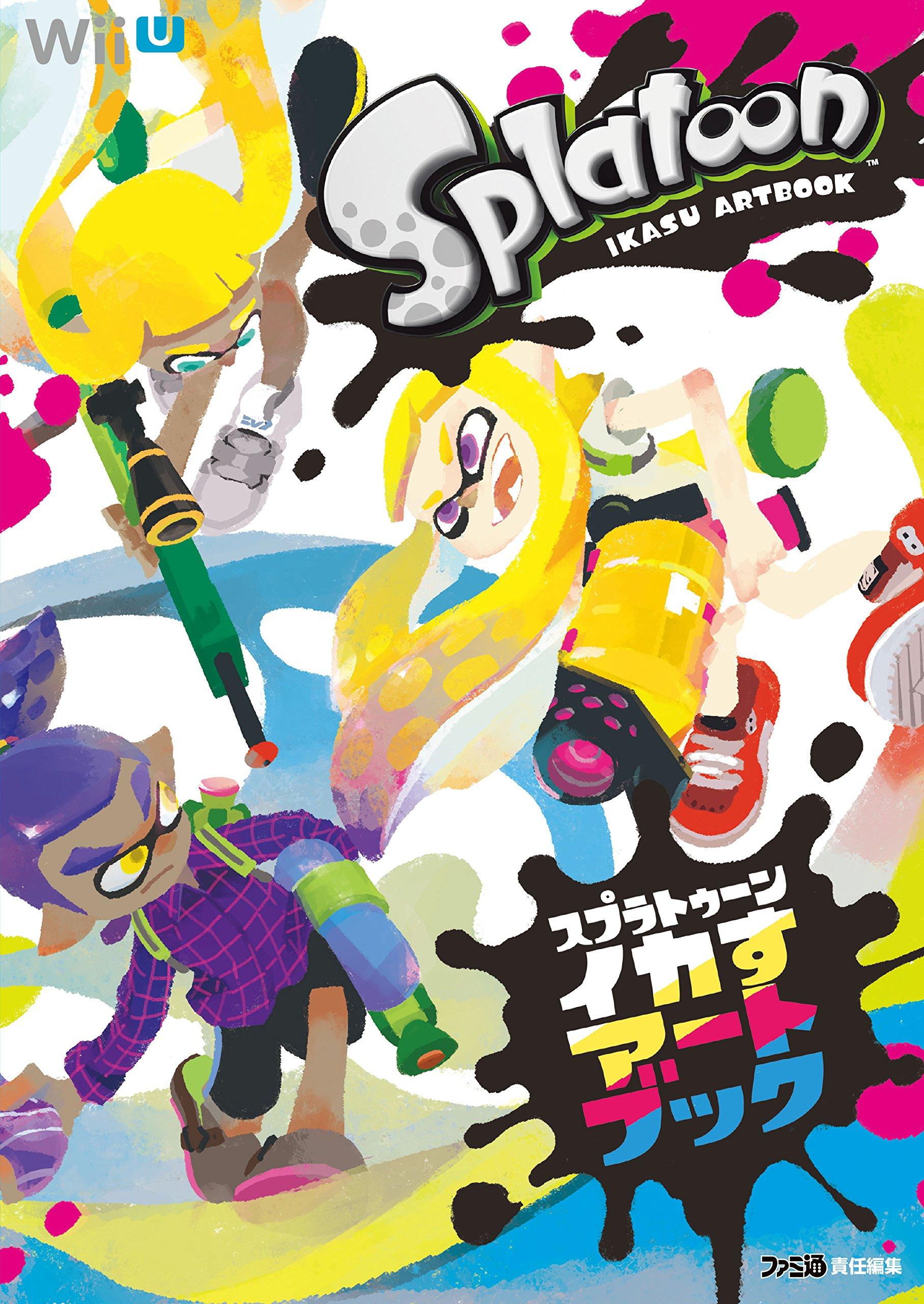 Read Online Splatoon IKASU ART BOOK KADOKAWA Enter Frain Illustrations by Famitsu pdf