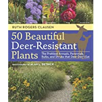 50 Beautiful, Deer-Resistant Plants: The Prettiest Annuals, Perennials, Bulbs, and Shrubs that Deer Don't Eat