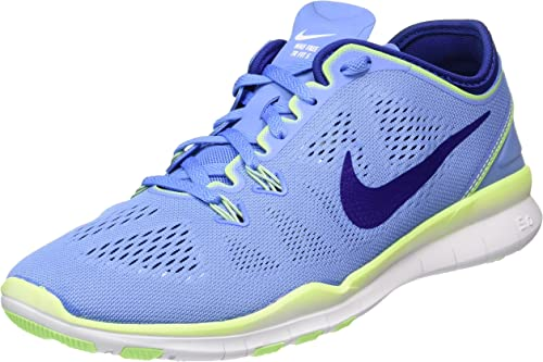Nike Womens Free 5.0 TR FIT 5 Running Trainers 704674 Sneakers Shoes (5.5 UK, Chalk Blue deep Royal Blue 402)