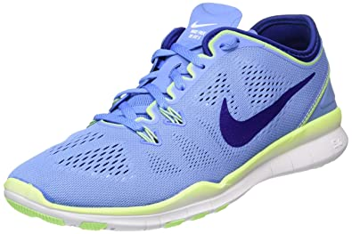 official photos 1efb7 15343 NIKE Womens Free 5.0 TR FIT 5 Running Trainers 704674 Sneakers Shoes (5.5  UK, Chalk Blue deep Royal Blue 402)