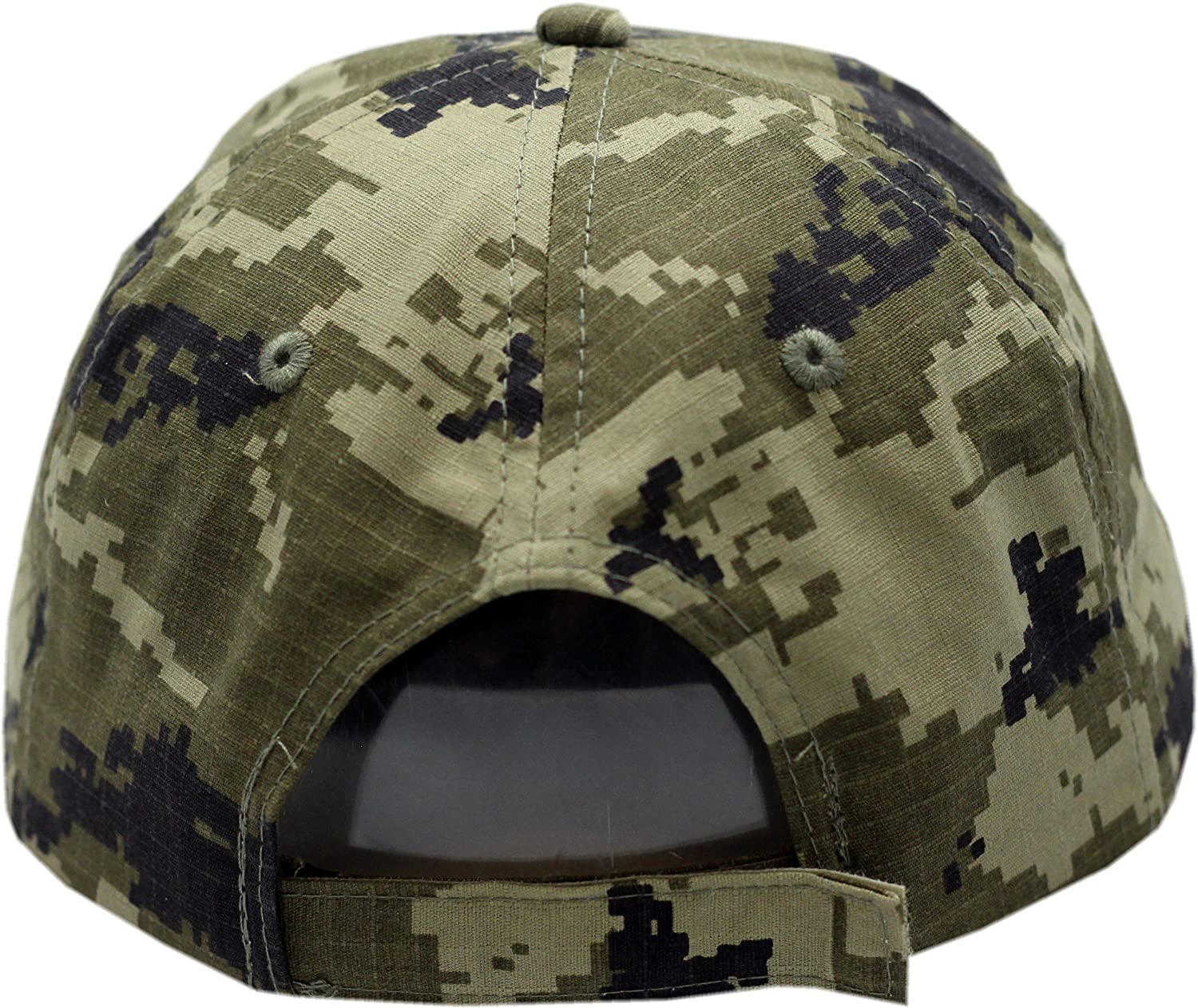 Chicago Flag Digi Camo Green Chicago Police Adjustable Hat