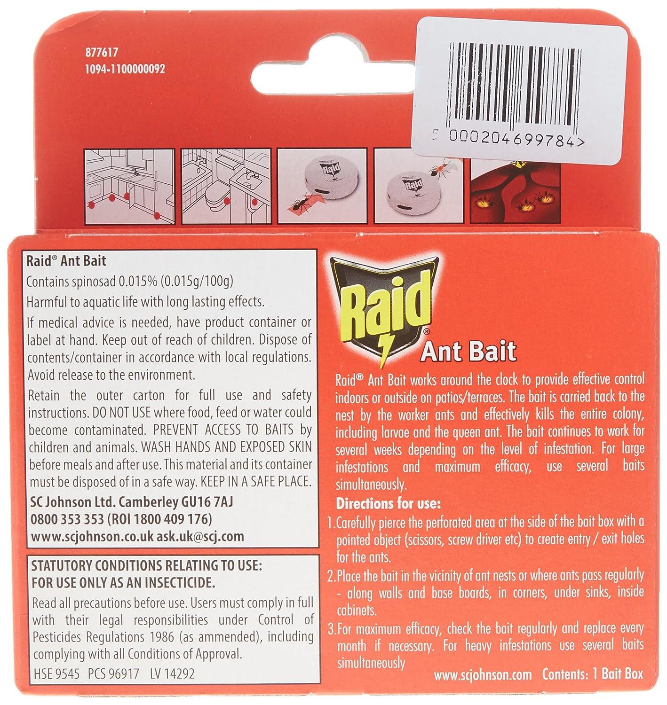 Raid - Insecticida para hormigas, Pack of 3: Amazon.es: Salud y cuidado personal