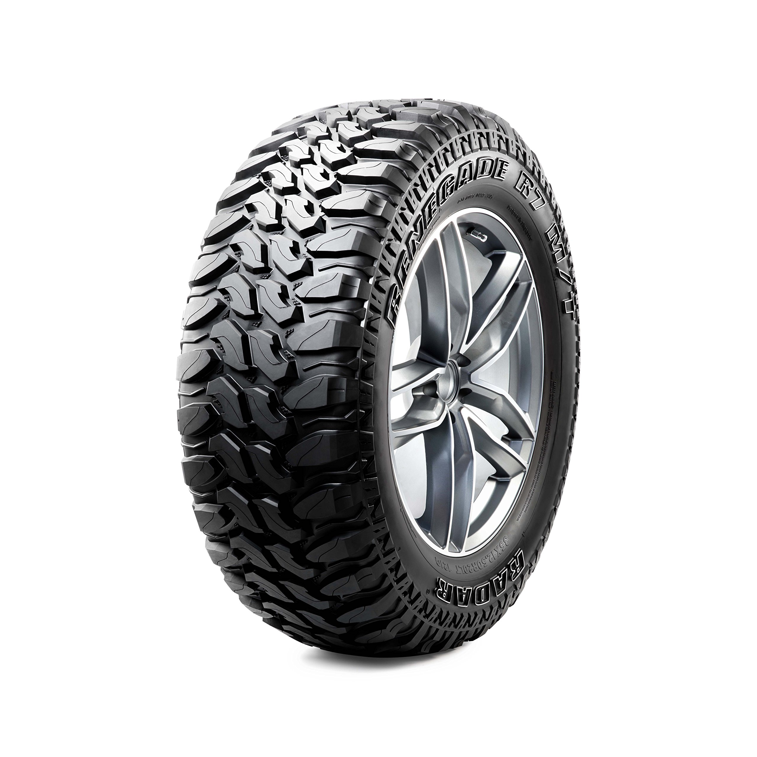 Radar Renegade R7 Mud Terrain Radial Tire - 35X12.5R17 119Q by Radar (Image #1)