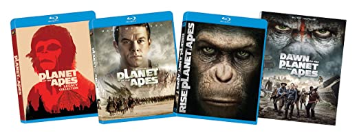 Planet of the Apes 8-Film Bundle [Blu-ray]
