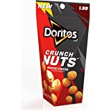 Doritos Crunch Nuts Nacho Cheese Coated Peanuts, 3 Ounce (Pack of 8)