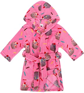 AbbyLexi Kids Soft Plush Long-Sleeved Fleece Cover up with Pockets