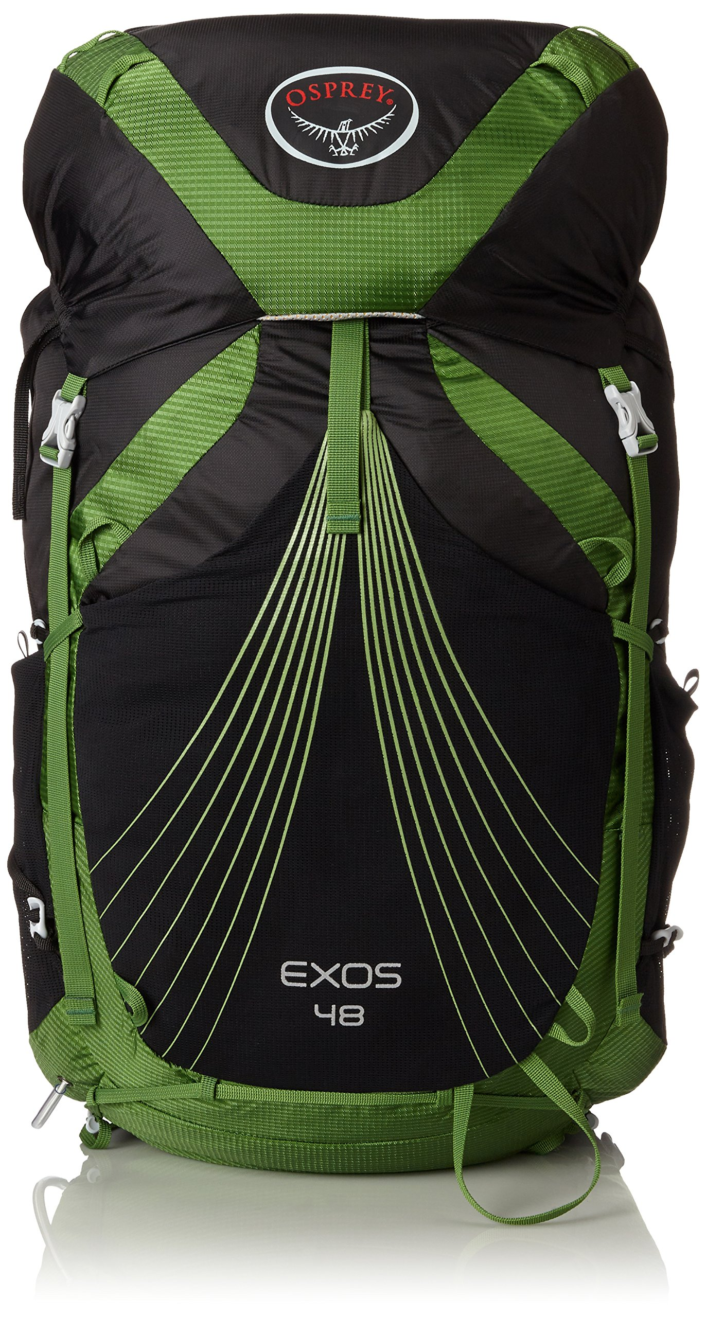 Osprey Packs Exos 48 Backpack (2017 Model), Basalt Black, Medium by Osprey