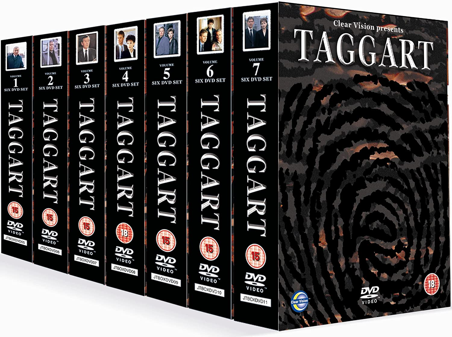 Taggart Collection Dvd42 Discs Amazoncouk Blythe