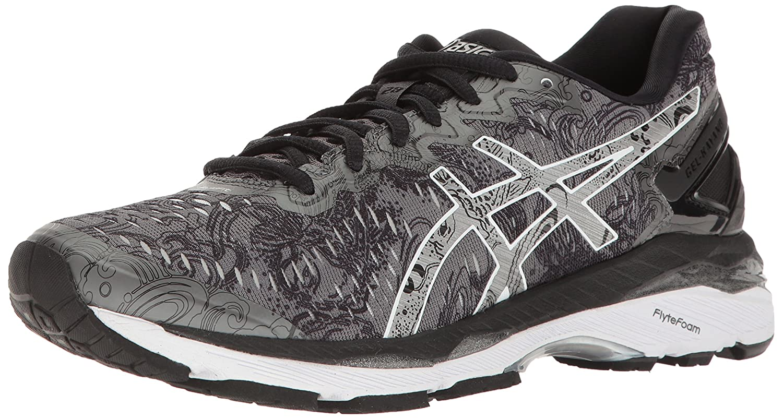 ASICS Women's Gel-Kayano 23 Lite-Show Running Shoe B01GT0866Y 5.5 B(M) US|Carbon/Silver/Reflective