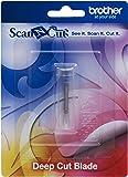 Brother CABLDF1 Scan-N-Cut - Cuchilla para Cortes Profundos, Color Plateado