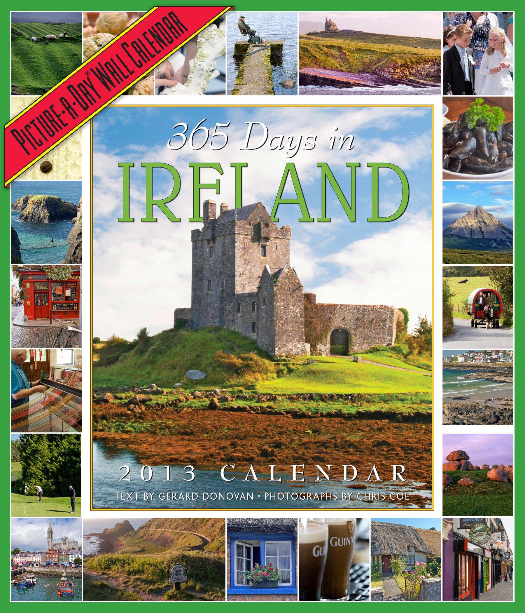 365 Days in Ireland 2013 Wall Calendar PDF