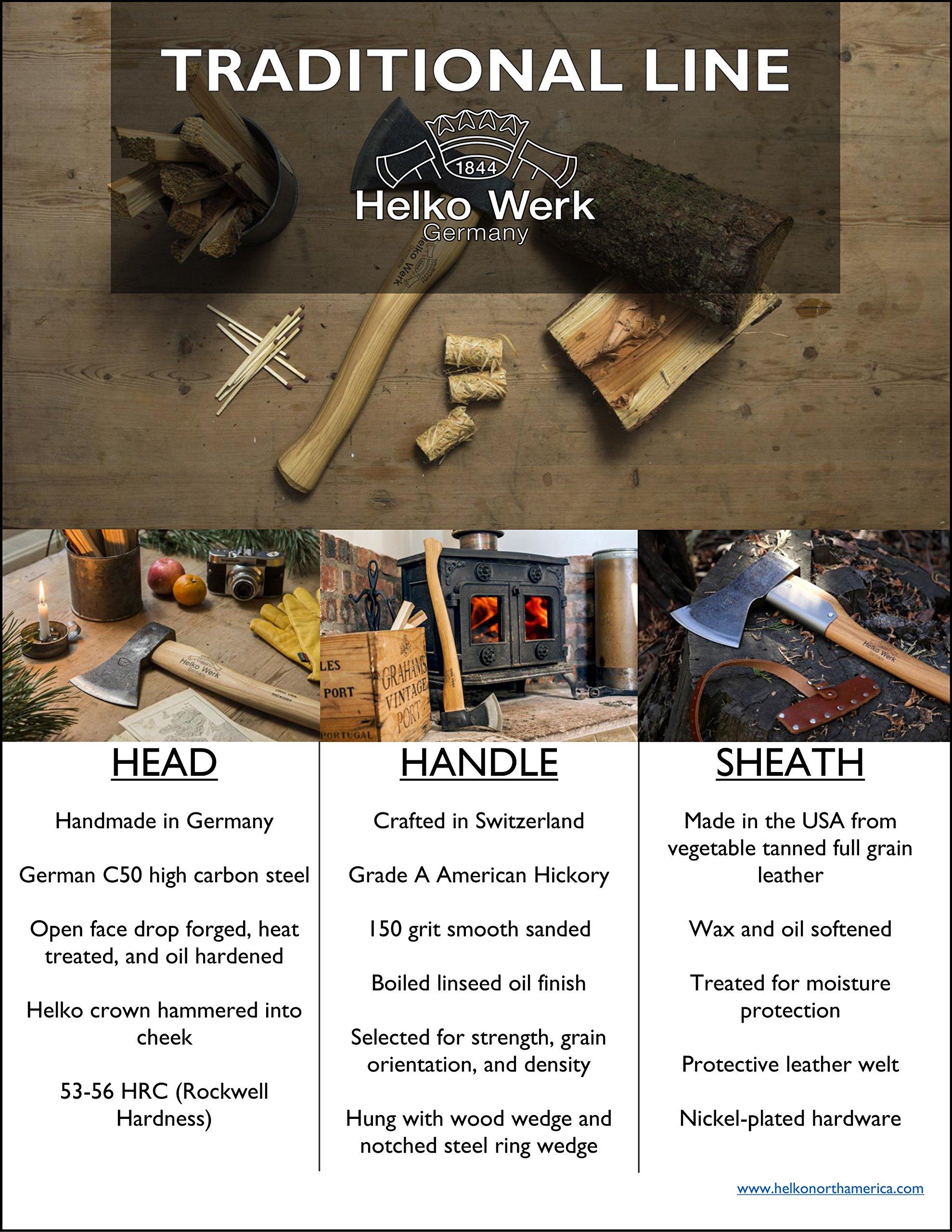 Helko Werk Saxon Splitting Axe by Helko Werk (Image #6)