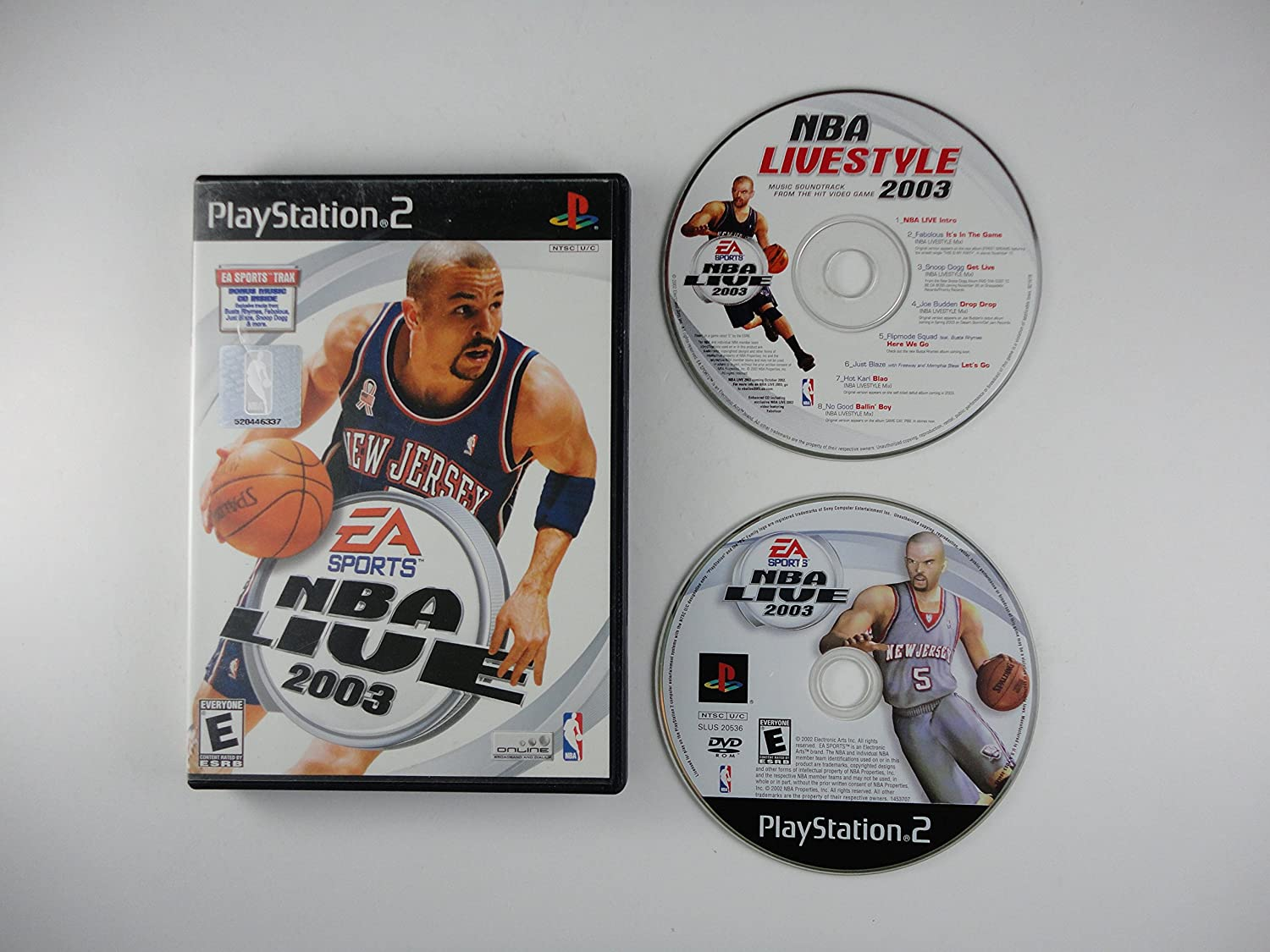 27e8ad40e Amazon.com  NBA Live 2003  Video Games
