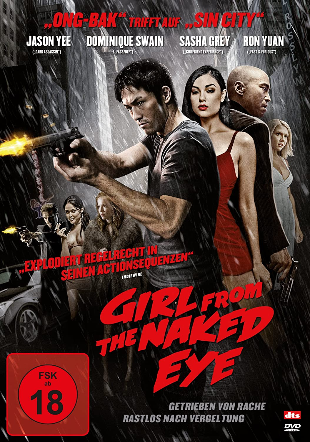 Girl from the Naked Eye [Alemania] [DVD]: Amazon.es: Samantha ...