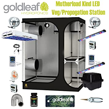 Mother Load KIND LED Clone u0026 Propagation Station Complete Grow Tent Kit w/ EZ & Amazon.com : Mother Load: KIND LED Clone u0026 Propagation Station ...