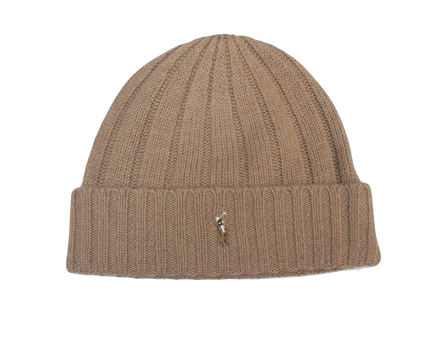 267a9c03b24 Amazon.com  Polo Ralph Lauren Lambs Wool Beanie Hat Cap  Sports   Outdoors