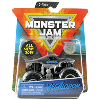 Monster Jam MJ 2020 SM Overcast Megalodon 1:64 Scale: Toys & Games