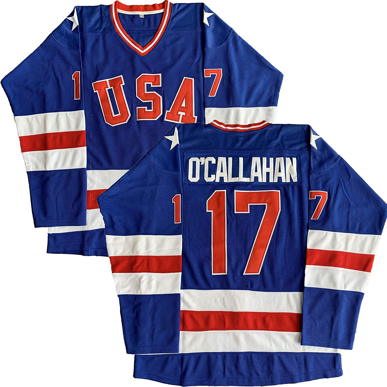 #21 Mike Eruzione 1980 Miracle On Ice USA Hockey 17 Jack O'Callahan 30 Jim Craig Stitched Hockey Jerseys 91ryaYmDIiL