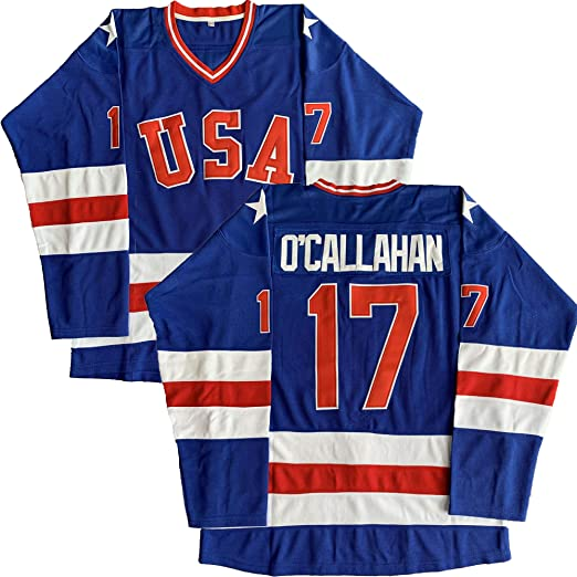 #21 Mike Eruzione 1980 Miracle On Ice USA Hockey 17 Jack O'Callahan 30 Jim Craig Stitched Hockey Jerseys